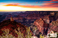 Sunrise - Point Imperial - Grand Canyon North rim